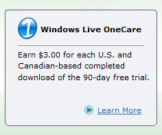 LiveOne Care - Microsoft Affiliate Banner
