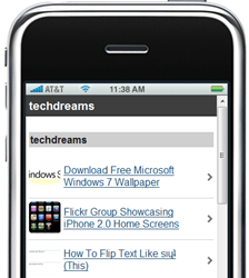 techdreams iPhone Preview