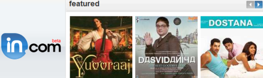 in.com is my personal favourite to listen Bollywood Hindi Songs