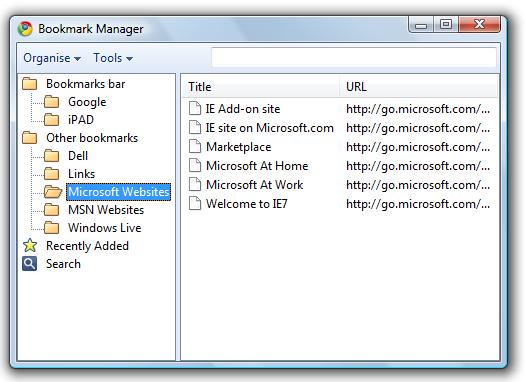 Google_Chrome_Bookmark_Manager