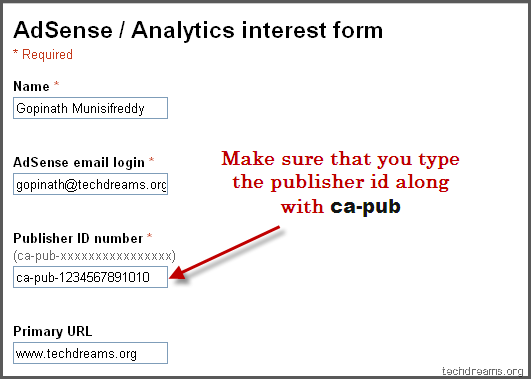 how to find adsense id