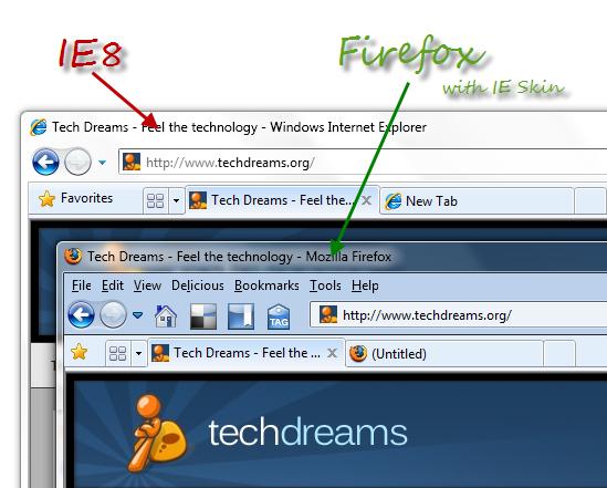 Firefox Internet Explorer Theme