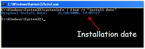 find_out_installation_date_of_operating_system