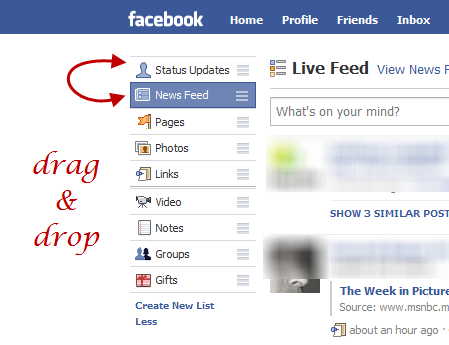 how to change login on facebook