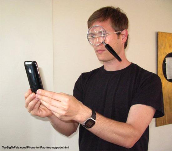 iPhone to iPad free upgrade Humor Free iPhone To iPad Upgrade
