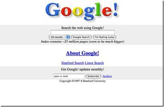 google_old_design