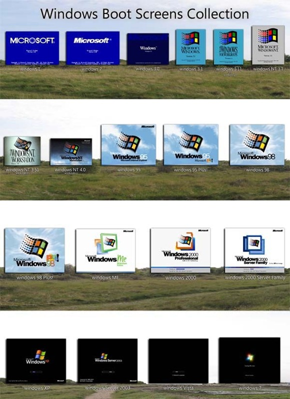 Windows1-to-Windows7_Boot_Screen_Collection