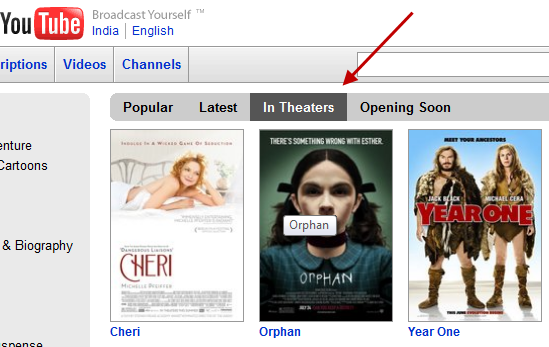 Youtube trailers one stop to watch movie trailers in hd quality