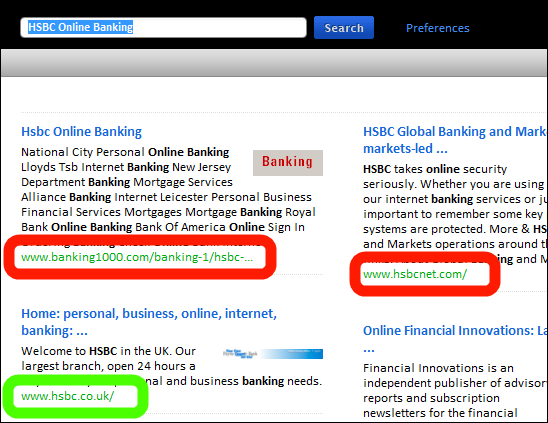 Search Results for HSBC Online Banking