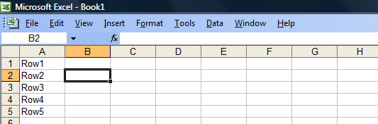 Converting Columns To Rows In Microsoft Excel -  2