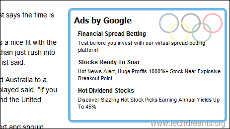 Olympics_Themed_Primier_Google_Adsense_Ad