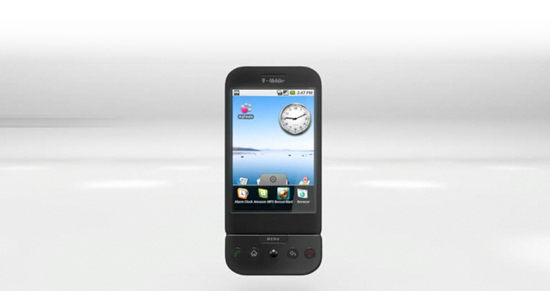 Google Android HTC G1 Image 4