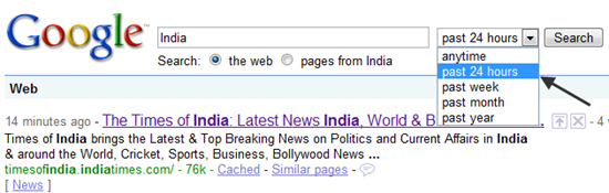 Easy Way To Filter Your Google Search Results By Freshness