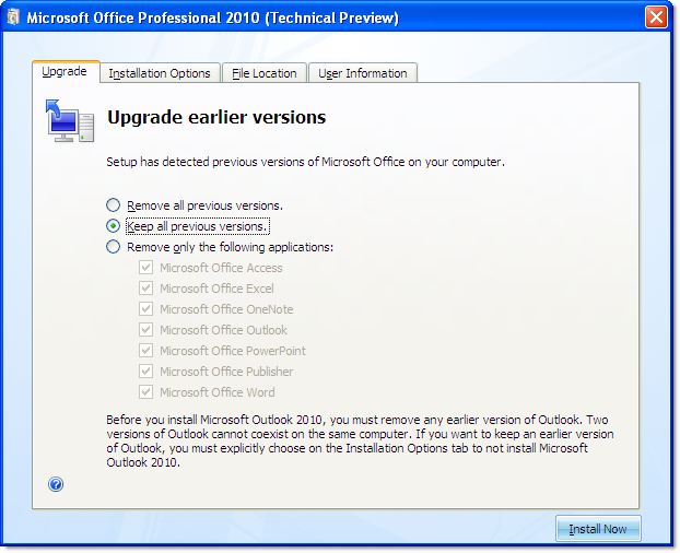 Screenshot Tour: Microsoft Office 2010 Installation And