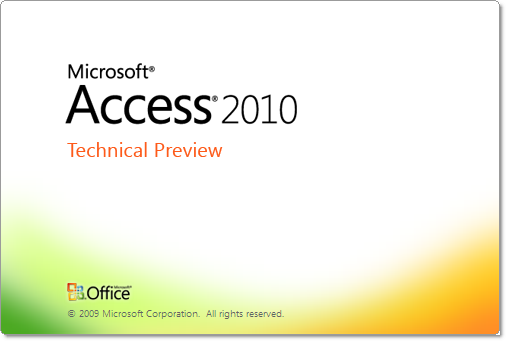office_2010_screenshot_tour_access_splash