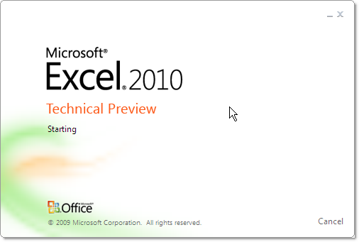 office_2010_screenshot_tour_excel_splash