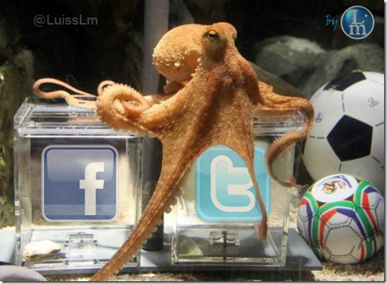 Paul Octopus_Facebookor Twitter