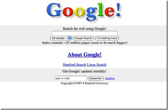 google_old_design
