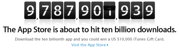 app_store_10_billionth_download_counter