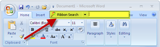 Ribbon_Search_for_searching_office_ribbon_ui