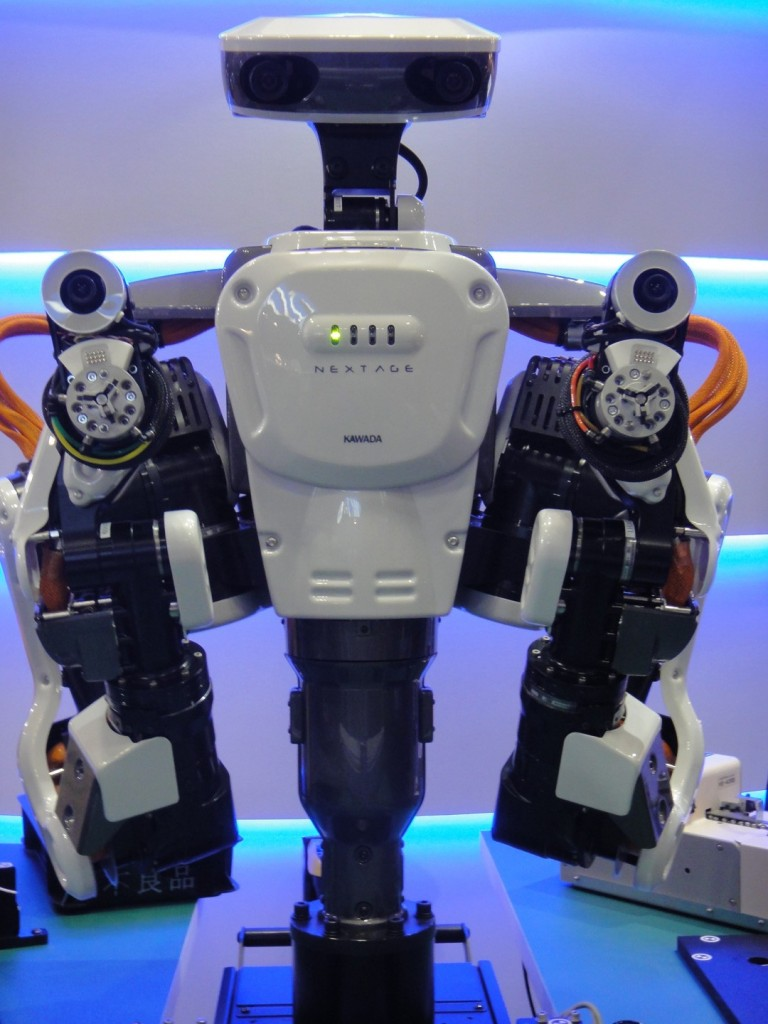 How robots can start working with people - Business Insider  |Humanoid Robot Assembly